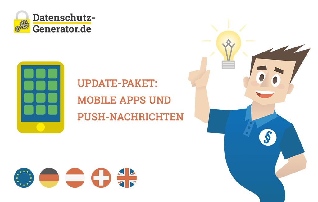 Datenschutzerklärung - Neue Module für Mobile Applikationen